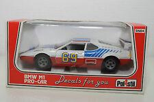 POLISTIL SN04 SN-04 SN 04 BMW M1 PRO-CAR MINT BOXED RARE SELTEN