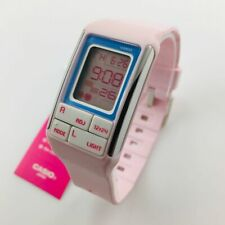 Women's Casio Poptone Light Pink Digital Watch LDF51-4A