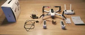 Hubsan Zino Quadrocopter RTF - Faltbare FPV-Drohne mit 4K UHD-Kamera mit Tasche