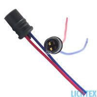 W5W T10 Scheinwerfer Lampenfassung Stecker Sockel Ersatz Kabel Anschluss Fassung