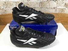 Vintage Reebok Legacy Pro RS Soccer Football Boots UK 9.5 US10.5 Eu44 Rare Black