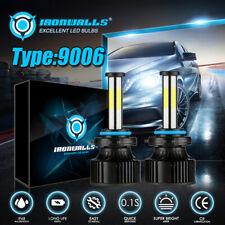 9006 HB4 LED Combo Headlight Kit COB 2800W 360000LM Light Bulbs High & Low Beam