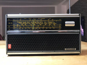Grundig Prima Boy 600 Radio Gute Zustand Funktioniert Einwandfrei