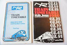 More details for 1979 1980 northern ireland railways train railway timetable x2 ireland irish