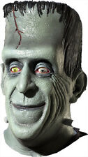 Halloween LifeSize Costume HERMAN MUNSTER LATEX DELUXE MASK Haunted House NEW