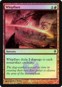 Whipflare FOIL NM Red Sorcery MTG Magic The Gathering