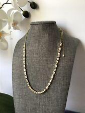 Kendra Scott necklace Adjustable Phillipe Gold /Swarovski Crystal New!!