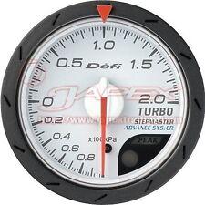 Defi Link ADVANCE CR Boost gauge 200kPa White face 52mm Blue/Amber red DF07801