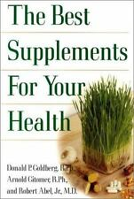 The Best Supplements for Your Health New Book WT48799