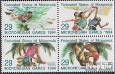 Mikronesien 352-355 block of four (complete.issue.) unmounted mint / never hinge