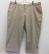 Faded Glory Chino Capris Beige Size 18  JJ3