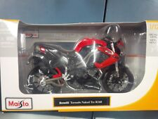 BENELLI TORNADO NAKED TRE R160 BIKE 1/12 MOTORCYCLE BY MAISTO US seller SHF