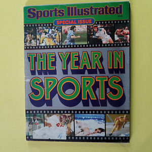 SPORTS ILLUSTRATED - MARCH 13, 1980 - YEAR IN SPORTS - GREAT FOR AUTOGRAPHS