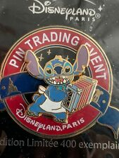 Disneyland Paris - Gourmet Pin Trading Event - Stitch Pin 83596 Ltd 400