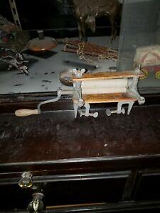 """American Wringer Co New York GEM 2 Horseshoe Brand Wringer 11"""" Salesman Sample"""
