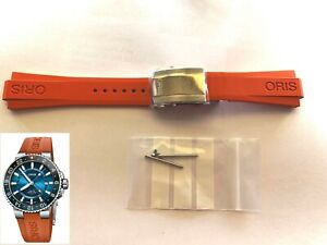 New Oris Ø43.5 Aquis Carysfort Reef 7754 rubber band strap bracelet 07 4 24 67NB