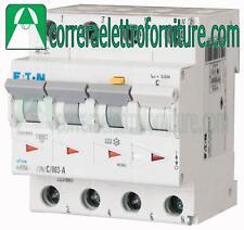 Interruttore magnetotermico differenziale A 4P 20A 30ma 4,5KA 4 M EATON 120677