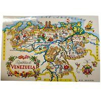 Vintage Postcard, Venezuela