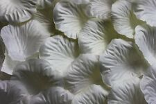 100 x Ivoire Pétale de rose en soie Décoration de table Mariage Confetti