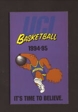UC-Irvine Anteaters--1994-95 Basketball Pocket Schedule--Miller Sharps
