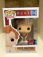 FEYD RAUTHA NYCC 2019 CONVENTION EXCLUSIVE FUNKO POP MOVIES DUNE #814