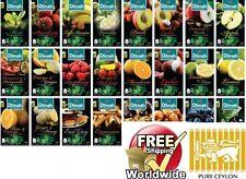 CEYLON Dilmah Tea Cinnamon,Ginger,Green,Lemon,Peach,Watte Loose& bags much more