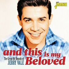 Jerry Vale - Great Hit Sounds Of & This Is My Beloved [New CD] UK - Import