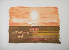 Michael Rothenstein Tate Gall Mare & Foal Horse Curwen Signed Ltd Edition Print