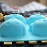 Animal Cake Mold 3D Mould Baking Sugarcraft Plaster Soap Decoration Silicone HO