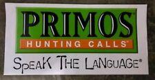 Primos Hunting Calls Decal