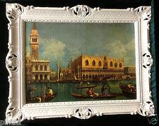 Venezia CUADRO GONDOL - Cuadro 90x70 Venezia Nostalgia gondolfahrt