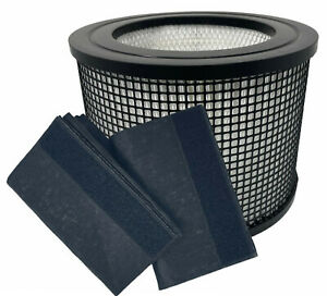 AirFreex Premium Hepa + 2 Carbon Prefilter Wraps for Filter Queen Defender