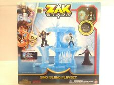 Zak Storm Sino Island Playset Connected Play Mobile Game t1710