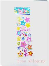 stars Stickers lot kids favor holiday party Xmas 1sheet teacher rewards gift new