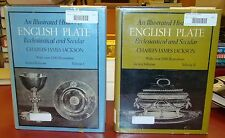Illustrated History of English Plate, Volumes 1 & 2 (Dover, 1969) HCDJ