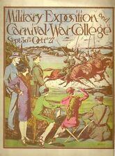 Us Army War College Military Exposition 1927 Souvenir Program Wash Dc vtg Pics