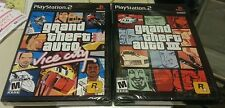 GRAND THEFT AUTO DOUBLE PACK GTA III AND GTA VICE CITY BLACK FACTORY SEALED NEW