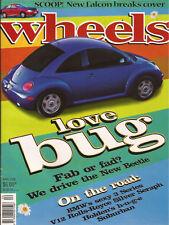 WHEELS Apr 98 Beetle 991 996 E36 328i LS400 Suburban
