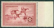 USA : 1935. Scott #RW2 VF, MNH PO Fresh margin stamp, no gum skips 1997 APS Cert