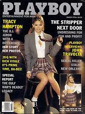 PLAYBOY MARCH 1996-A - PRISCILLA TAYLOR - JOHN TRAVOLTA - DE DE LIND NUDE !!!
