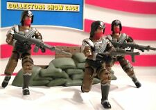 GI JOE ~ 3 SKULL SQUAD TROOPERS 2006 CONVENTION ~ ARMY BUILDER ~ 100% JOECON
