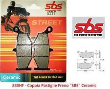 833HF- Coppia Pastiglie Freno Posteriori SBS Ceramic per Suzuki GSX 750 R K6/K10