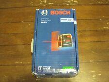 Brand New Bosch Gll30s 30 Ft Self Leveling Cross Line Laser Level Gll 30 S Gs