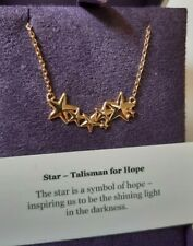 Muru 925 silver rose gold plated Stars Talisman for Hope necklace pendant