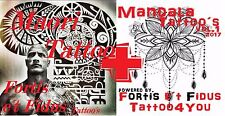Tattoovorlagen  Flash Cd Motive Dvd Maori/Polynesian-the Rock + Mandala +Bonus