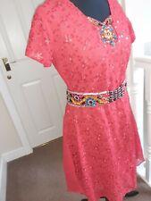 Vestido de fiesta asiáticos, indio, pakistaní boda, Eid,. Talla 8