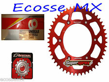 HONDA CRF250R Gold Heavy Duty Chain and Supersproxl Red Sprocket Kit