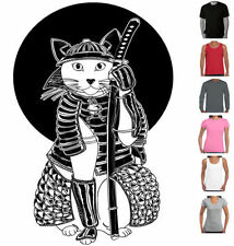 Polyester Graphic Tee Cats T-Shirts for Women