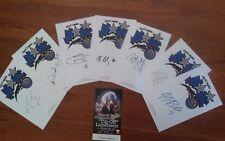 Orlando Magic NBA--2007--7 Autographs--JJ,Bogans,Ariza,Arroyo,Dooling,Ewing