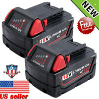 2X For Milwaukee M18 Lithium Ion XC 3.0 Extended Capacity Battery 48-11-1828 18V